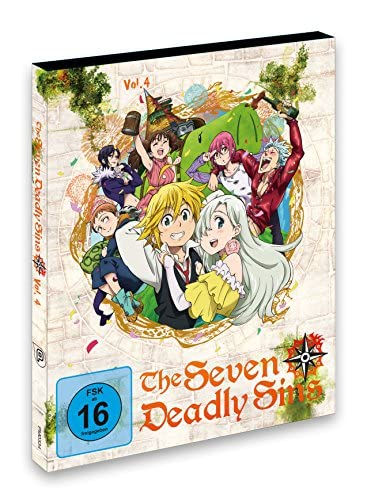 The Seven Deadly Sins Vol. 4 (Episode 19-24) [Blu-ray]