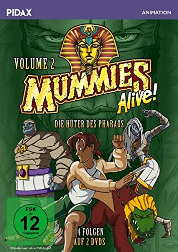 Mummies Alive - Die Hüter des Pharaos, Vol. 2 (2 DVDs)