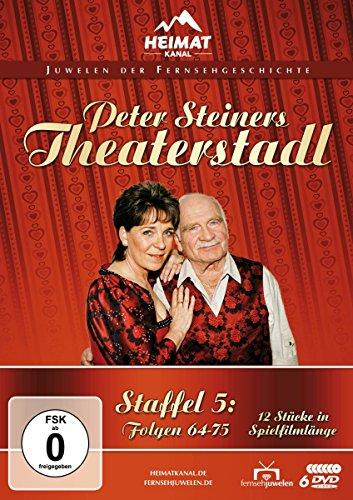 Peter Steiners Theaterstadl Staffel 5: Folgen 64-75 (6 DVDs)