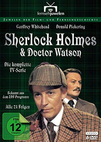 Sherlock Holmes und Dr. Watson Komplettbox (6 DVDs)
