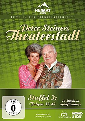 Peter Steiners Theaterstadl Staffel 3: Folgen 33-48 (8 DVDs)
