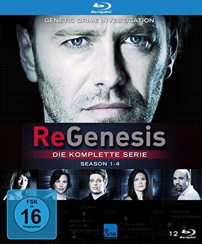 ReGenesis Die komplette Serie (Staffel 3 & 4 OmU) [Blu-ray]