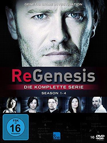 ReGenesis Die komplette Serie (Staffel 3 & 4 OmU) (16 DVDs)