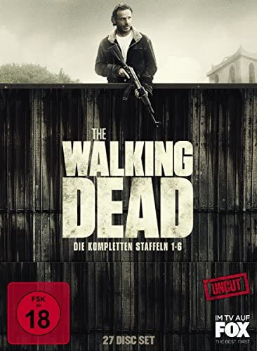 The Walking Dead Staffel 1-6 Box (Uncut) [Blu-ray]