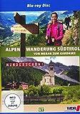 Wunderschön! - Wandern über die Alpen 2: Südtirol - Von Meran zum Gardasee Komm wir wandern weiter! [Blu-ray]