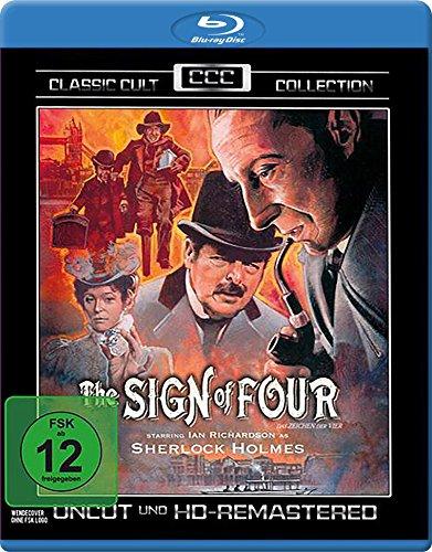 Sherlock Holmes: Das Zeichen der Vier (Classic Cult Edition) [Blu-ray]