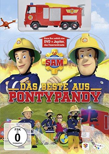 Feuerwehrmann Sam Das Beste aus Pontypandy (+ JUPITER Spielzeugauto)