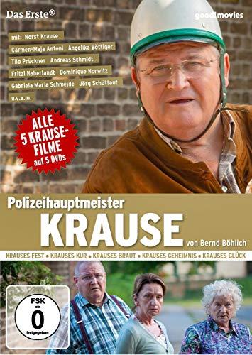 Polizeihauptmeister Krause Alle 5 Kause-Filme (5 DVDs)