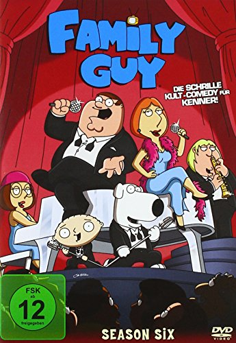Family Guy Season  6 (3 DVDs)