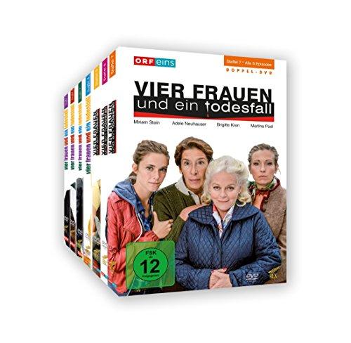Vier Frauen und ein Todesfall Staffel 1-7 (14 DVDs)