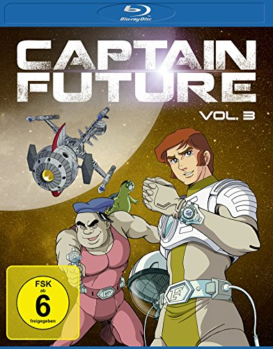 Captain Future Vol. 3 [Blu-ray]
