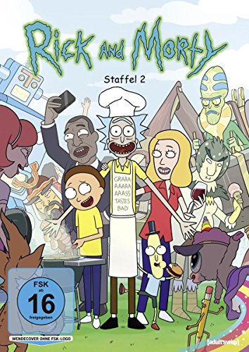 Rick and Morty Staffel 2 (2 DVDs)