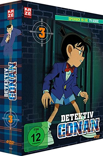Detektiv Conan Die TV Serie: Box 3 (6 DVDs)