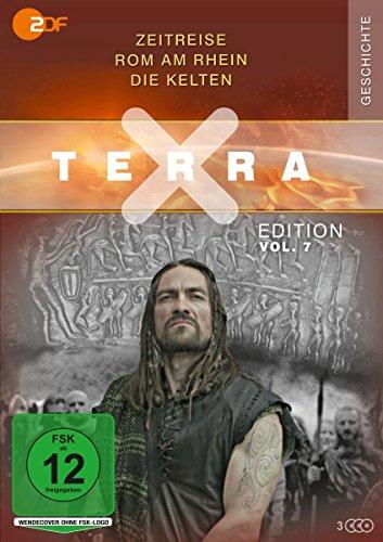 Terra X - Edition Vol. 7: Zeitreise - Rom am Rhein - Die Kelten (3 DVDs)