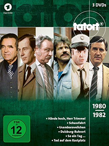 Tatort 80er Box, Vol. 1 (3 DVDs)