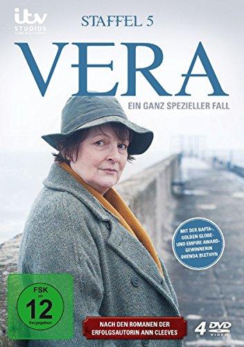 Vera - Ein ganz spezieller Fall: Staffel 5 (4 DVDs)