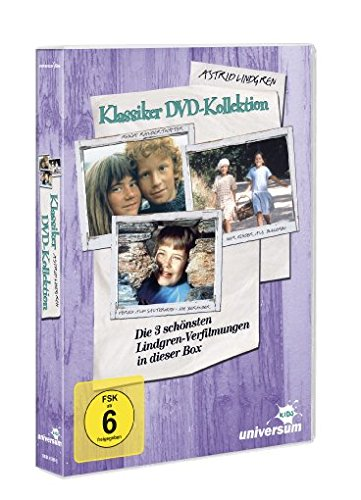 Astrid Lindgren - Klassiker (3 DVDs)