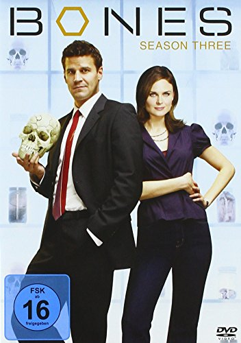 Bones - Staffel   3 (4 DVDs) Season  3 (4 DVDs)