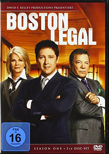 Boston Legal Staffel 1 (5 DVDs)