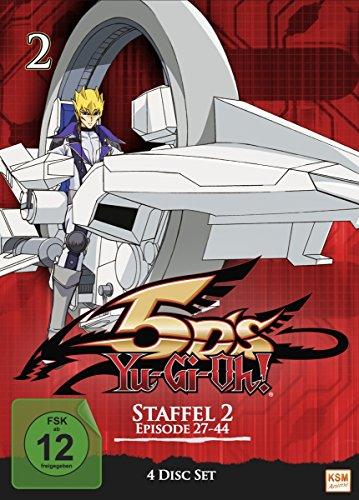 Yu-Gi-Oh! 5D's Staffel 2.1 (Episode 27-44) (4 DVDs)
