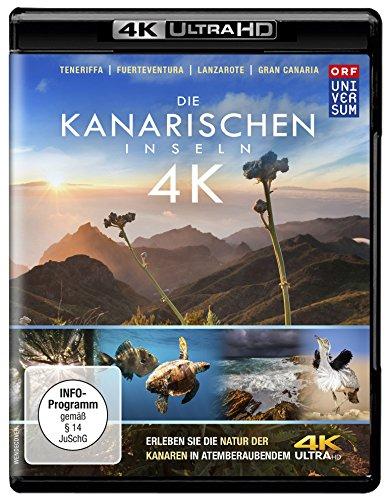 Die Kanarischen Inseln (4K Ultra HD) [Blu-ray]