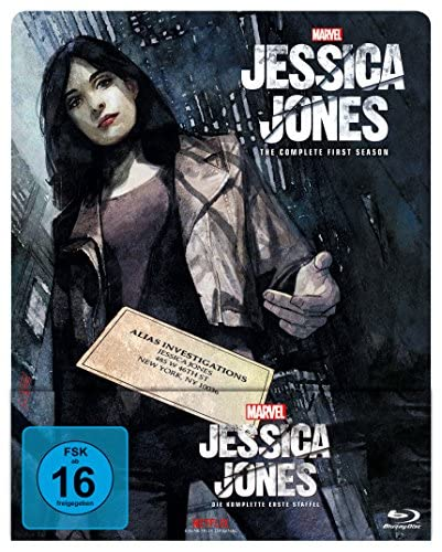Marvel's Jessica Jones Staffel 1 (Limited Edition Steelbook) [Blu-ray]