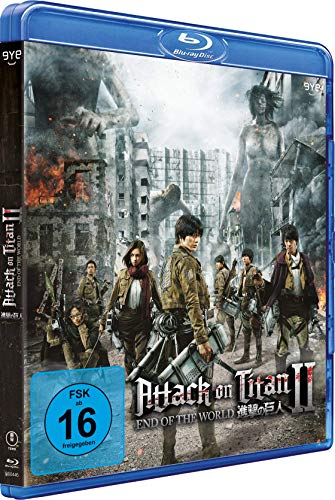 Attack on Titan Film 2: End of the World [Blu-ray]