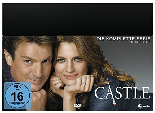Castle Die komplette Serie (Limited Edition) (45 DVDs)
