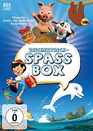 Zeichentrick-Spaßbox: Pinocchio / Zoom - Der weiße Delfin / Au Schwarte! (3 DVDs)