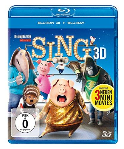 Sing (3D Blu-ray)