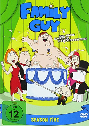 Family Guy Season  5 (3 DVDs)