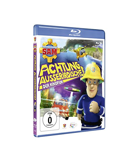 Feuerwehrmann Sam Achtung Außerirdische! (Kinofilm) [Blu-ray]