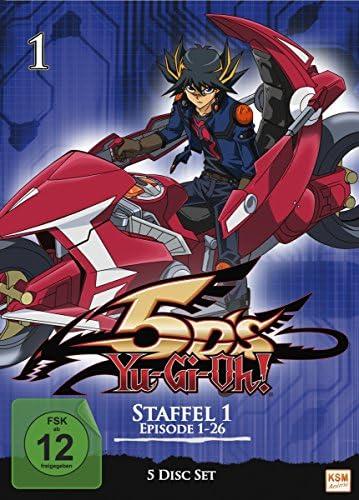 Yu-Gi-Oh! 5D's Staffel 1 (Episode 1-26) (5 DVDs)