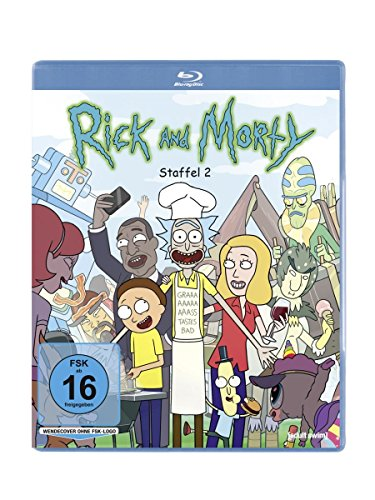 Rick and Morty Staffel 2 [Blu-ray]