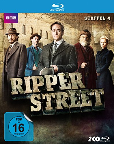 Ripper Street Staffel 4 [Blu-ray]