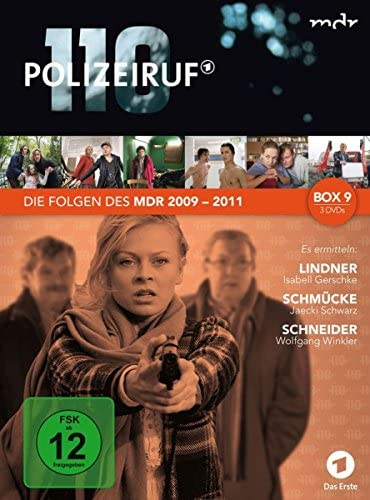 Polizeiruf 110 MDR-Box  9 (3 DVDs)