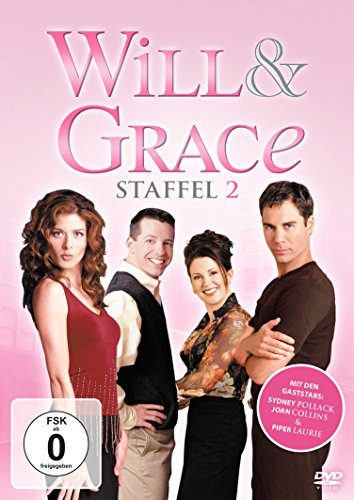 Will & Grace Staffel 2 (4 DVDs)