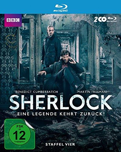 Sherlock Staffel 4 [Blu-ray]