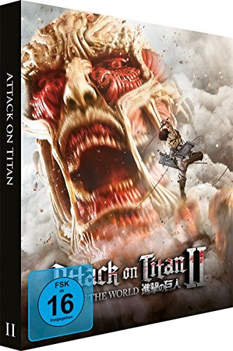 Attack on Titan Film 2: End of the World (Limited Edition Steelbook) [Blu-ray]