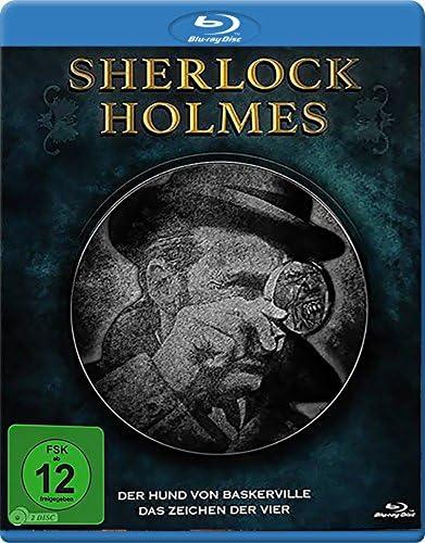 Sherlock Holmes Box: Der Hund von Baskerville / Das Zeichen der Vier [Blu-ray]