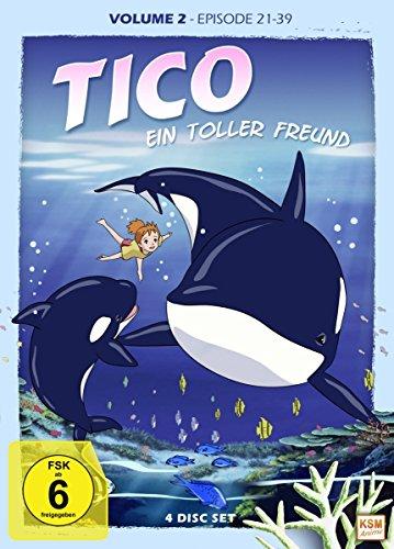 Tico - Ein toller Freund: DVD 2 (Episoden 21-39) (4 DVDs)