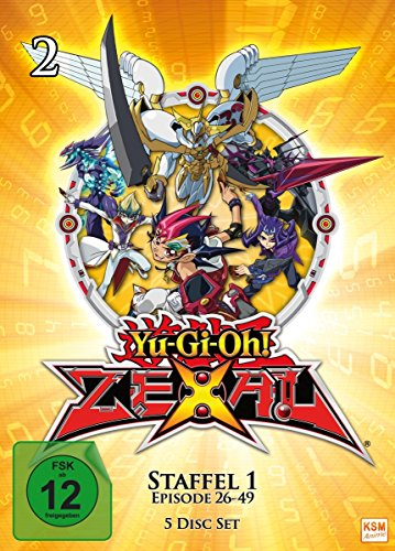 Yu-Gi-Oh! - Zexal Staffel 1.2 (Episode 26-49) (5 DVDs)