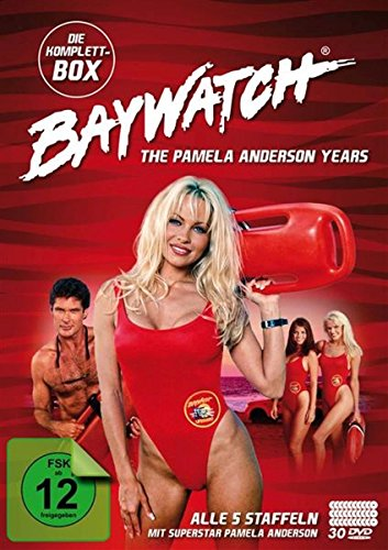 Baywatch The Pamela Anderson Anderson Years: Komplettbox (5 Staffeln) (30 DVDs)