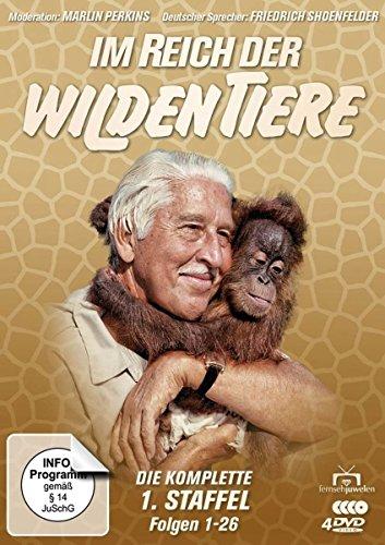 Im Reich der wilden Tiere Staffel 1 (4 DVDs)