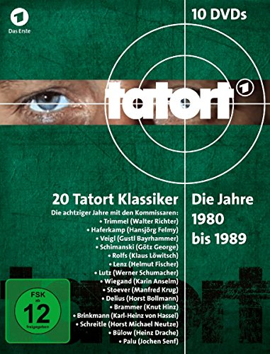 Tatort 1980-1989 Box (10 DVDs)