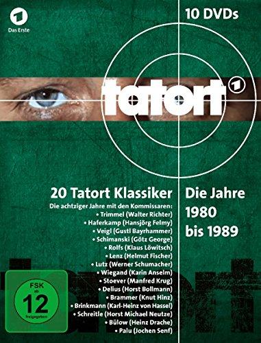 Tatort 1980-1989 Box (10 DVDs)