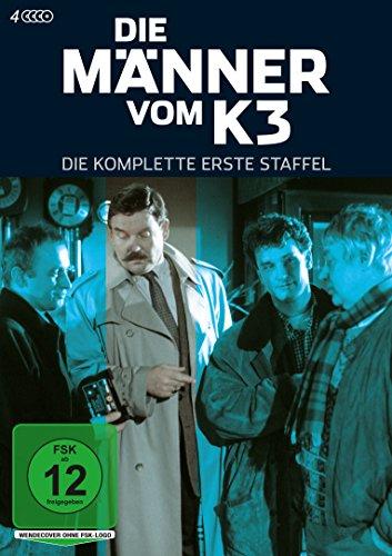 Die Männer vom K 3 Staffel 1 (4 DVD)