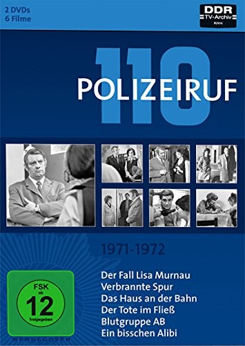 Polizeiruf 110 Box 1: 1971-1972 (2 DVDs)