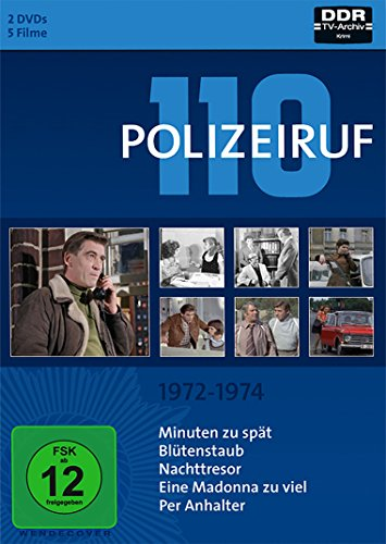 Polizeiruf 110 Box 2: 1972-1974 (2 DVDs)