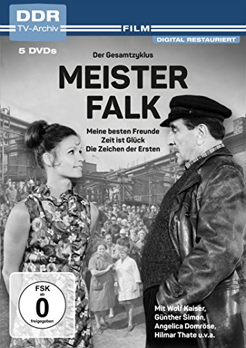 Meister Falk - Der Gesamtzyklus: Meine besten Freunde / Zeit ist Glück / Die Zeichen der Ersten (DDR TV-Archiv) (5 DVDs)